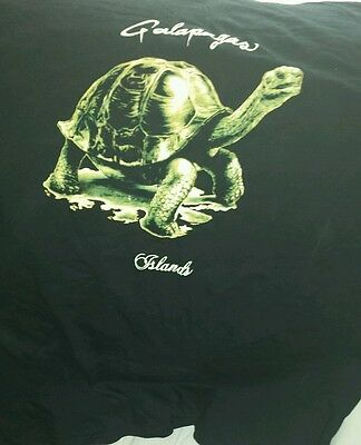 Authentic Ecuador import Galapagos Islands t-shirt size XXL