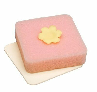 Wilton Fondant Shaping Foam Form For Flowers Leaves Thick Thin Squares 1907-9704
