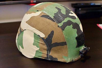 Airsoft Paintball Helmet Camouflage & Olive Green