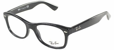 Authentic Ray Ban Junior RY 1528 3542 Black Plastic Childrens Eyeglasses  46mm 4a7c4e1614e1