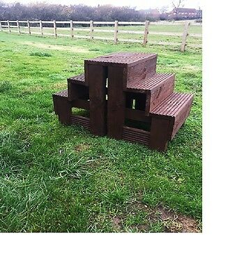 Large Heavy duty horse mounting block from KIRKWOOD