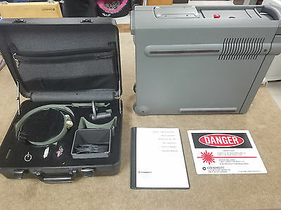 Coherent Ultima 2000 argon laser system for eye surgery new condition with green