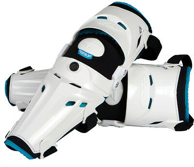 Fly Racing 5 Pivot Knee Guards - White