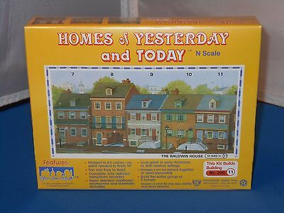 IHC Homes Of Yesterday & Today The Baldwin House Model Kit MISB! N Scale 1/160