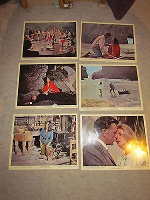 THE SANDPIPER - FOH / LOBBY CARDS SET OF 12 - Elizabeth Taylor