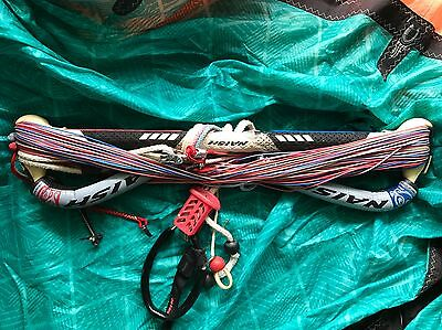 "NAISH 21"" Kitesurfing Bar and Lines w/Chicken Loop+Donkey Stick!"