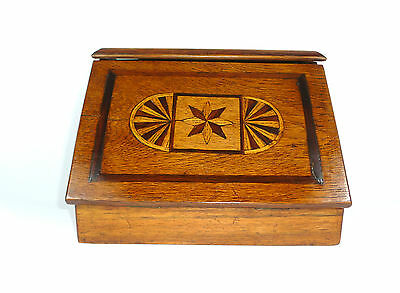 Baroque Travel Secretary Mini secretary with Inlaid Secretary 18 Jh