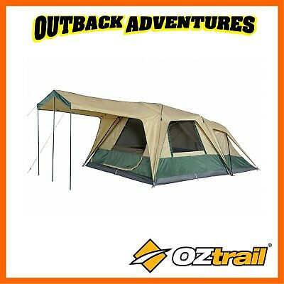 Oztrail Fast Frame Cruiser 300 Plus Instant Up Swift Quick Pitch 8 Person Tent