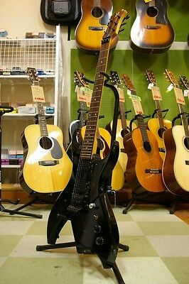 B.C.Rich bich Black w/soft case Free shipping Guiter Bass From JAPAN #M32