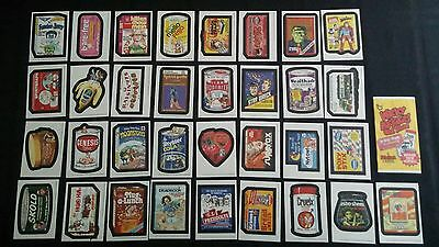 Wacky Packages Old School 5 Complete Set Of Die Cut Stickers