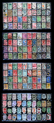 Wholesale Latin America Large Lot 160 Different x10 Total 1600 Stamps Old Rare