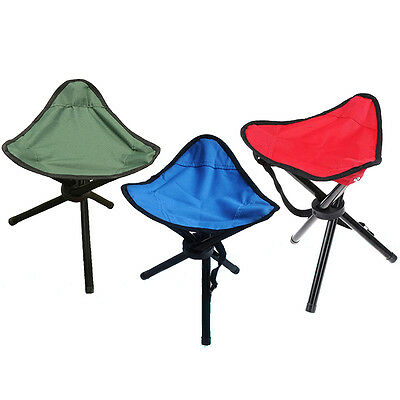 Fishing Outdoor Small Tripod Chair Seat Folding Cloth Portable Stool