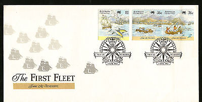 James Cook First Fleet Travels Teneriffe Australia First Day Cover Good To Frame