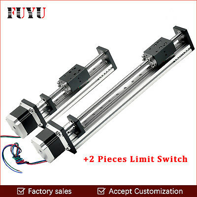 Free Shipping New coming 600mm stroke rail linear for motorized xy table