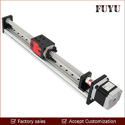 Free shipping 300mm stroke Ball Screw Linear Motion Guide  For Cutting Machine