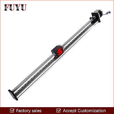 Free shipping 200mm stroke Ball Screw Driven Linear Motion Guide Rail For Print