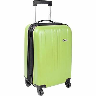 "Skyway Luggage Cirrus 19"" 4 Wheeled Expandable Spinner Upright Citron Reg $ 119"