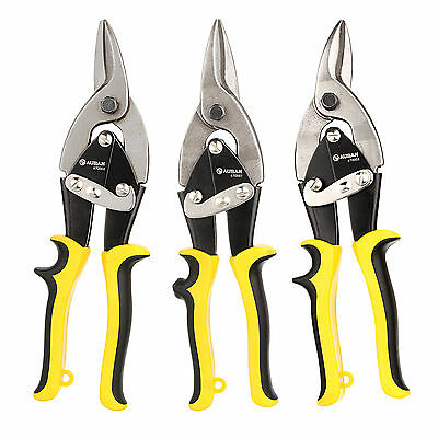 New 1×Aviation Tin Snip SLeft Right and Straight Cut Cutting Blades Sheet Metal
