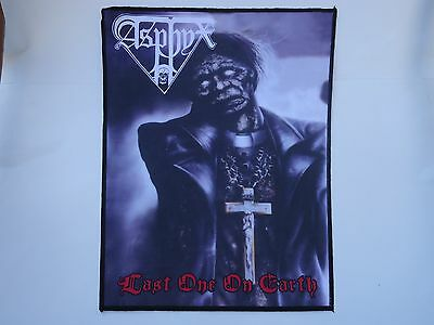 Asphyx Last One On Earth Sublimated Back Patch