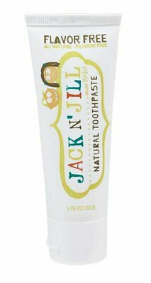 Natural Flavour Free Toothpaste 50g - Jack n' Jill