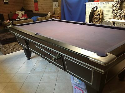 8' x 4' Coin Operated Pool Table