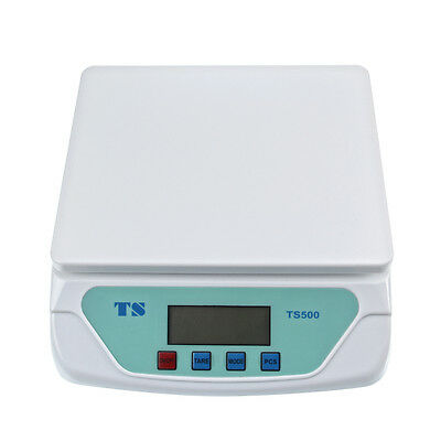 White Kitchen Scale Digital Commercial Shop Electronic Weight Food Scales