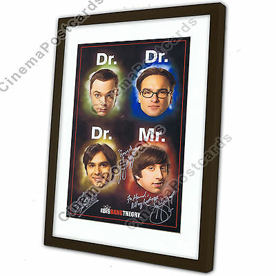 Big Bang Theory OFFICIAL Montage.Stan Lee Katee Sackhoff Summer Glau 3 Autograph