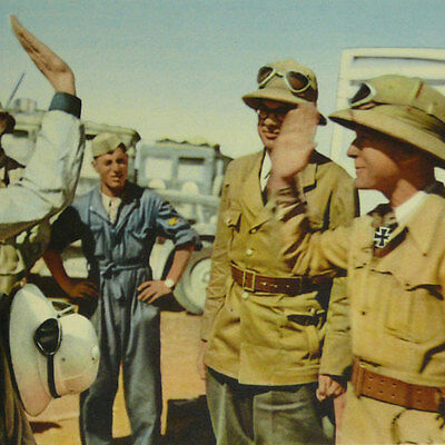 DAK Rommel Photo Book Heroes of Desert German Campaign in North Africa Corps WW2