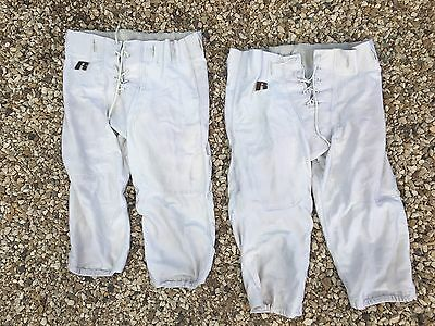 Lot Of 50 White  Football practice Pants Youth Adult Uniforms
