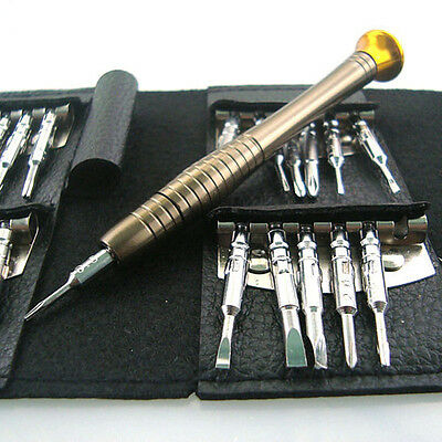 25 in 1 Set Pro Screwdriver Wallet Repair Tools kits for Smart Phone laptop