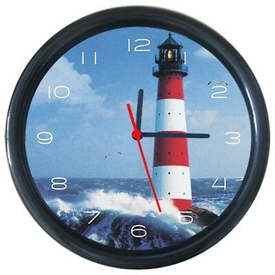 Germany Lighthouse Famous Place Light Tower Sea Side Design Wall Clock