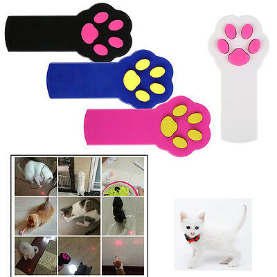 Chat Griffe Forme Interactive Laser Pointer Pet Kitten Chien Exercice Fun Jouet
