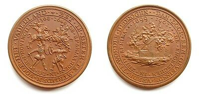 """South Africa Boer War Atrocities Dutch Copper Medal - """"concentration Camp Medal"""""""