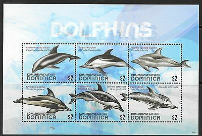 Dominica Sgms3670 2009 Dolphins Mnh