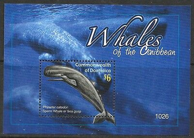 Dominica Sgms3714 2010 Whales  Mnh