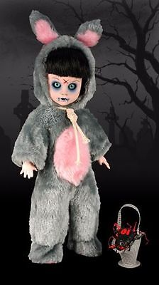Living Dead Dolls Eggzorcist 10th Anniversary Grey UK Exclusive Doll 2008 Rare