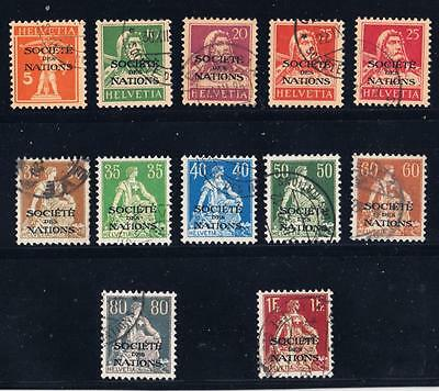 UNITED NATIONS : 1932 League of Nations 12 Used