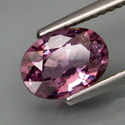 2,37 CTS EXCELENTE ESPINELA COLOR PURPURA .Natural Purple Pink Spinel Tanzania