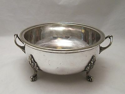 A Silver Plated Warming Dish - c1920 - Floral Detailing
