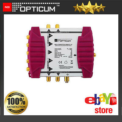 Opticum Multiswich OMS 5/4P Input Number: 4 SAT, 1 DVB-T Golden Line