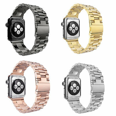 Stainless Steel Bracelet Band for Apple Watch 42mm/38mm Watchband for iwatch BY