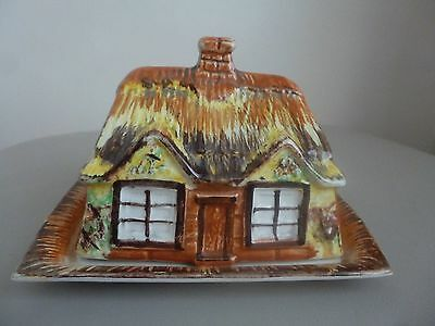 .vintage Price Brothers Cottage Ware Cheese/butter Dish