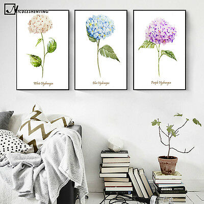 Spring Flowers Plant Art Canvas Poster Painting Wall Decor Picture FA258