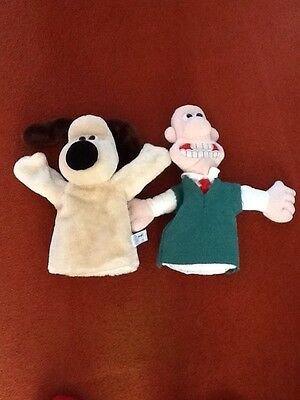 wallace and gromit hand glove puppets