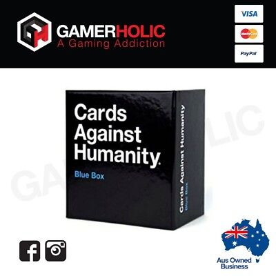 Cards Against Humanity Expansions BLUE Box 300 Cards NEW RELEASE Brand New