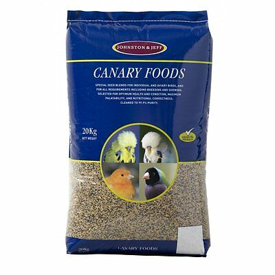 Johnston & Jeff mixed canary 20 kg cage bird seed