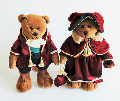 Collectable - Russ Teddy's  (Lancelot & Guinevere) Royal Winterfest Bears