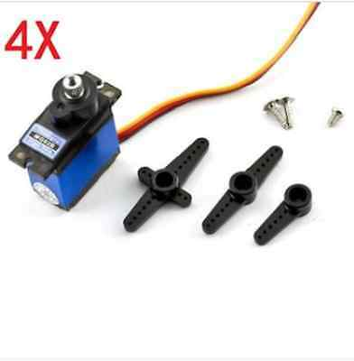4X Towerpro MG92B Robot 13.8g 3.5KG Torque Metal Gear Digital Servo