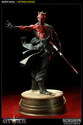 Star Wars - Darth Maul Mythos Exclusive Statue Figur Sideshow