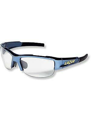 Lazer Chrome-Crystal Argon 1 AR1 - With Case Cycling Glasses